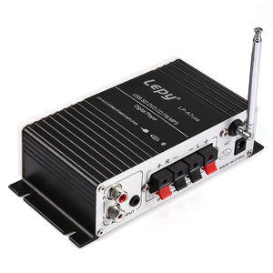 Coupcou.com: Lepy A7 Bluetooth Amplifier 2-channel HiFi Stereo Audio Support SD USB FM