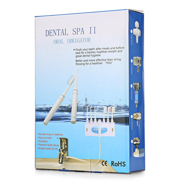 Coupcou.com: gustala Portable Dental SPA Oral Irrigator Water Jet Teeth Care Toothbrush Set