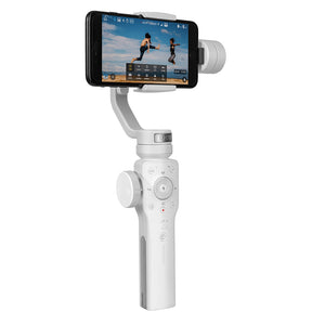 Coupcou.com: Zhiyun Smooth 4 3-Axis Handheld Gimbal Stabilizer w/Focus Pull & Zoom Capability for Smartphone Like iPhone X 8 Plus 7 6 SE Samsung Galaxy S9+ S9 S8+ S8 S7 S6 Q2 edge new Smooth-Q/III in 2018 White