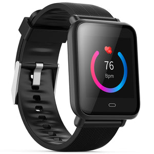 Coupcou.com: Q9 Colorful Screen Waterproof Sports Smart Watch for Android / iOS with Heart Rate Monitor Blood Pressure Functions