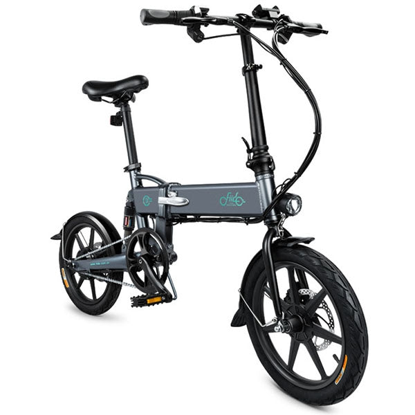 Coupcou.com: FIIDO D2 Smart Folding Bike Electric Moped Bicycle 7.8Ah Battery / with Double Disc Brakes