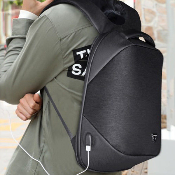 Coupcou.com: Anti-theft Business Backpack with USB Charging Port