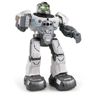 Coupcou.com: JJRC R5 RC Robot Auto Follow Smartwatch Control Sing Dance Intelligent Programming