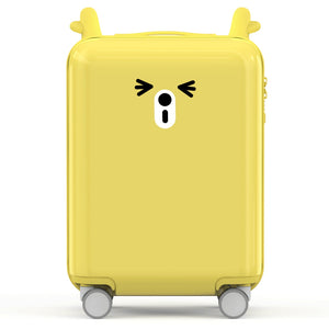 Coupcou.com: 90FUN PC Spinner Wheel Luggage Suitcase 18 inch from Xiaomi Youpin