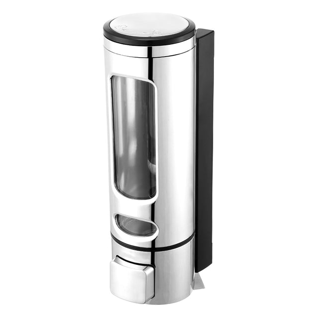 Coupcou.com: 400ml Wall Mount Single Head Hand Touch Soap Shampoo Dispenser for Bathroom