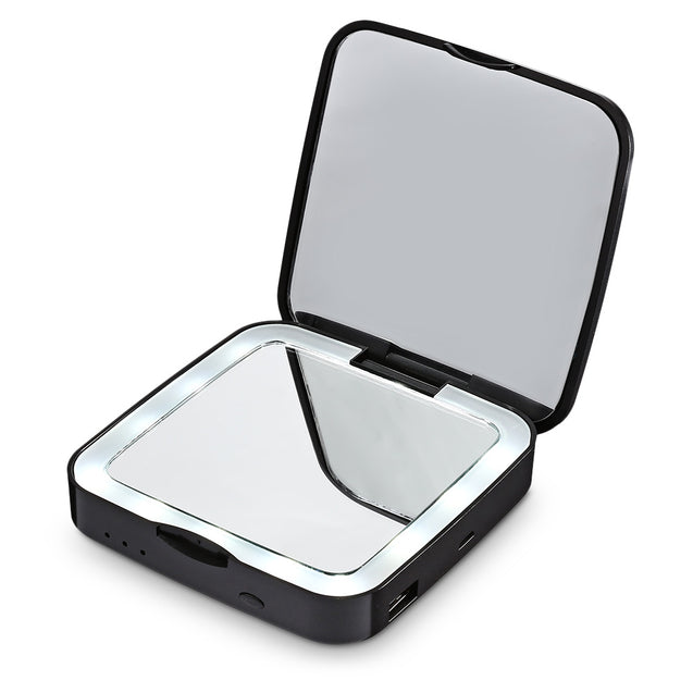 Coupcou.com: Gustala Multifunctional LED Make-up Mirror Portable Power Band for Travels