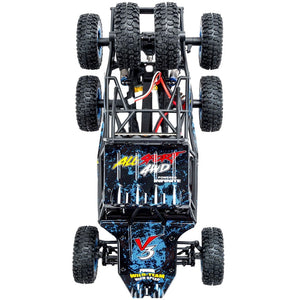 Coupcou.com: Wltoys 12628 1/12 2.4G 6WD RC Car RTR 550 Brushed Motor 40km/h Rock Crawler Toy with LED Light