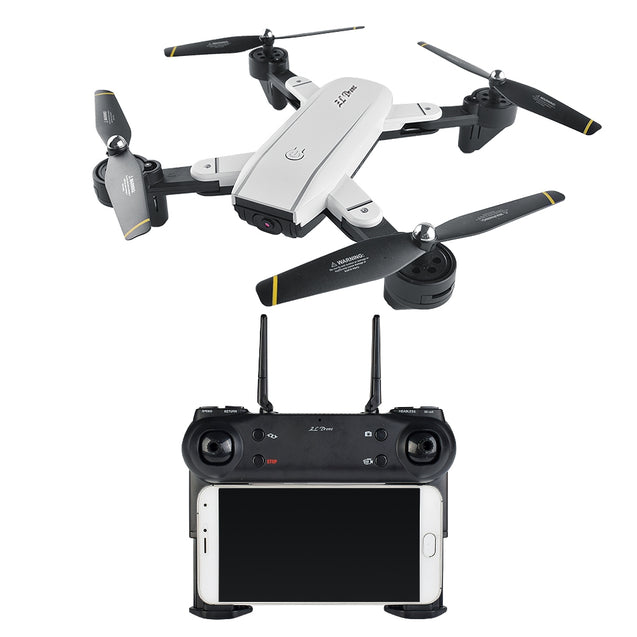 Coupcou.com: SG - 700 Mini WiFi FPV Camera Satellite Navigation Foldable RC Drone Quadcopter