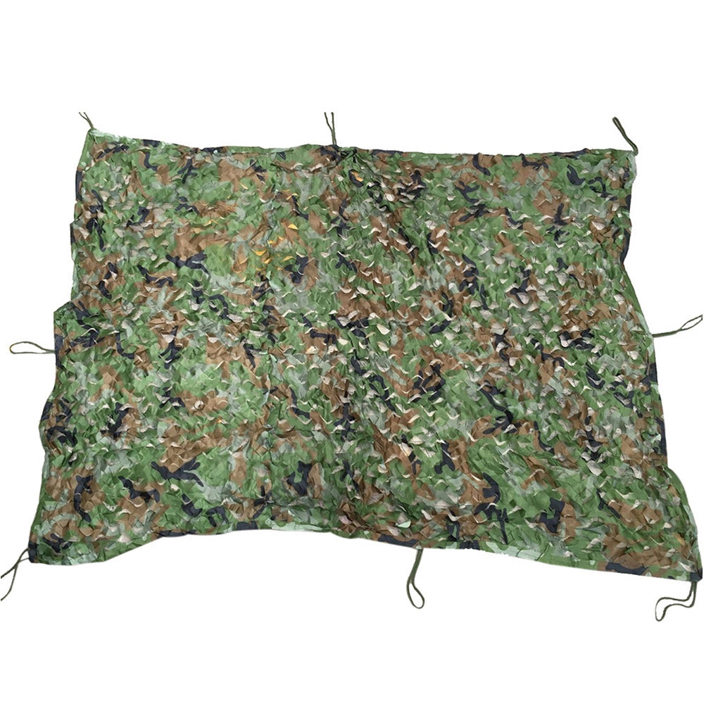 1.53M x 1.99M Woodland Military Car Cover Hunting Camping Tent Camouflage Net NettingDIGITAL JUNGLE CAMOUFLAGE