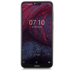 Coupcou.com: Nokia X6 4G Phablet 5.8 inch Android 8.1 Qualcomm Snapdragon 636 Octa Core 4GB RAM 64GB ROM 16.0MP + 5.0MP Dual Rear Cameras Fingerprint Sensor Face ID 3060mAh Built-in