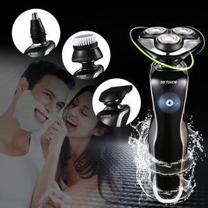 Coupcou.com: BS - 8003 4 in 1 5D Touch Men Electric Shaver Shaving Razor Trimmer