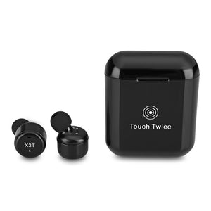 Coupcou.com: X3T Fingerprint Touch Control TWS Wireless Bluetooth 4.1 Earbuds for Sports