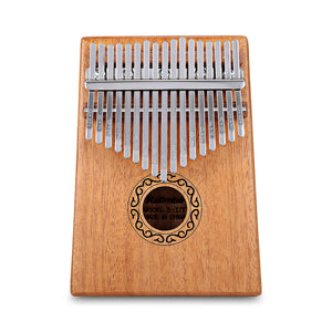 Coupcou.com: B - 17T 17 Keys Kalimba Thumb Piano Mahogany Body Musical Instrument