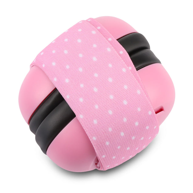 Coupcou.com: Pair of Infant Baby Anti-noise Earmuffs Elastic Strap Ear Protection
