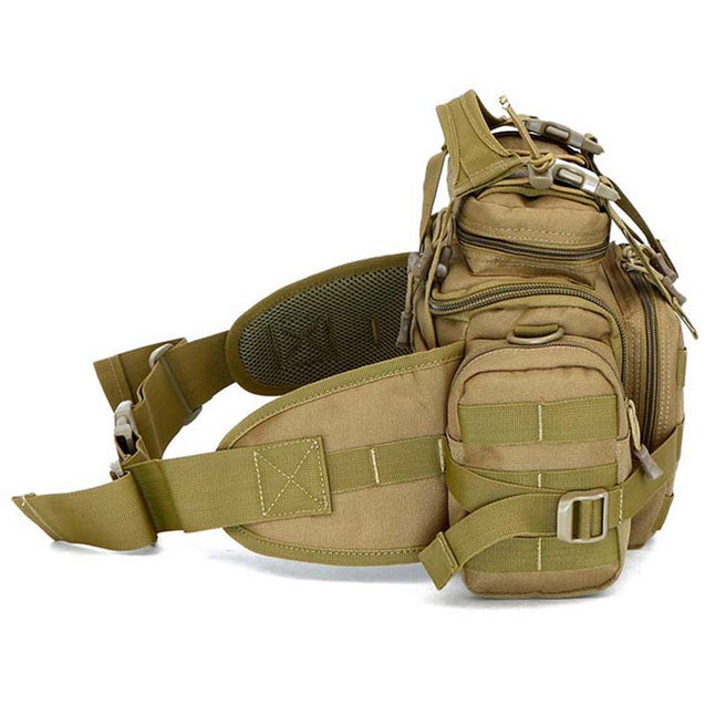 Coupcou.com: HUWAIJIANFENG 600D Nylon Durable Waist Bag for Outdoor Sports