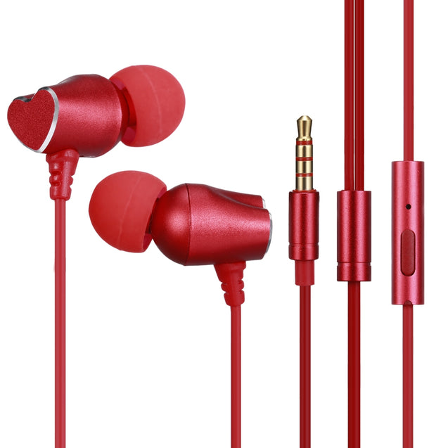 Coupcou.com: 520 Wired In-ear Couple Earphone Stereo Sound with Mic for iPhone / Samsung