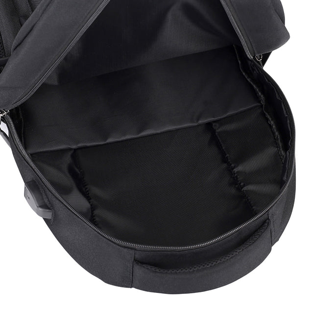 Coupcou.com: USB Charging Laptop Backpack Large Capacity Men Teenager Travel Bag
