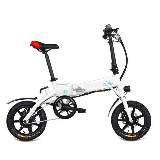 Coupcou.com: FIIDO D1 Mini Aluminum Alloy Smart Folding Electric Bike Moped Bicycle EU Plug