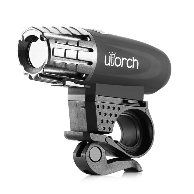 Coupcou.com: Utorch USB Rechargeable Super Bright Front Headlight Free Rear LED Bicycle Light