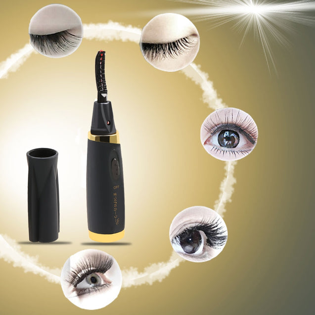 Coupcou.com: Portable Electric Eyelash Curler Makeup Beauty Tool