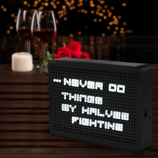 Coupcou.com: Peg Board Light Box LED Puzzle DIY Luminous Decoration Lamp