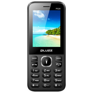 Coupcou.com: PLUZZ P528 2G Feature Phone 2.4 inch Spreadtrum 6531E Single Core 208MHz 32MB RAM 32MB ROM Bluetooth 2.1 1000mAh Built-in