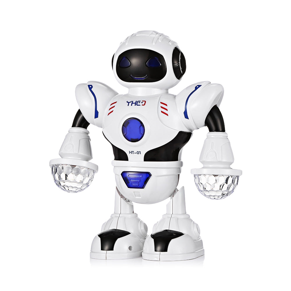 Bright Electric Colorful Light Music Dancing Swing Robot Model Toys Children Kids Educational Toy Birthday Gift Action & Toy Figures