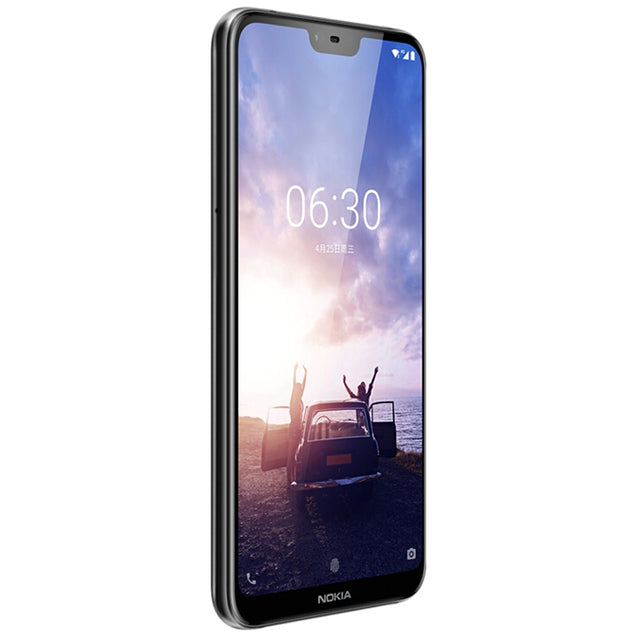 Coupcou.com: NOKIA X6 4G Phablet 5.8 inch Android 8.1 Qualcomm Snapdragon 636 Octa Core 1.8GHz 6GB RAM 64GB ROM 16.0MP + 5.0MP Rear Camera Fingerprint Sensor 3060mAh Built-in