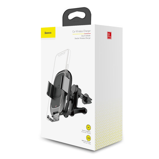 Coupcou.com: Baseus Car Mount Wireless Charger for 4.0 - 6.5 inch Mobile Phone