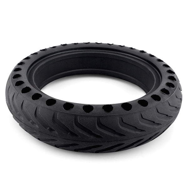 Coupcou.com: Rubber Solid Rear Tire with Hollow Design for Xiaomi M365 Electric Scooter