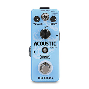 Coupcou.com: VSN PAC - 1 AC Stage Acoustic Simulator Guitar Effect Pedal