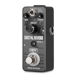 Coupcou.com: VSN POV - 1 Mini Digital Guitar Reverb Effect Pedal True Bypass
