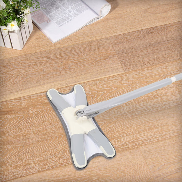 Coupcou.com: Wet Dry Dual Use Flat Mop Hands-free Floor Cleaning Tool