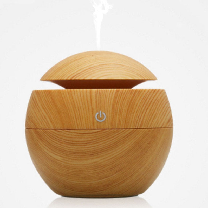 Aroma Essential Oil Diffuser 130ML Aromatherapy Cool Mist HumidifierFALL LEAF BROWN
