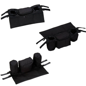 Coupcou.com: Stroller Organizer Organizing Storage Bag Baby Strollers Accessory with Deep Cup/Bottle Holders