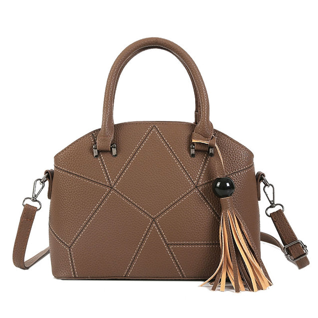 Coupcou.com: New Pu Leather Handbag Styling Single Shoulder Bag Shell Bag