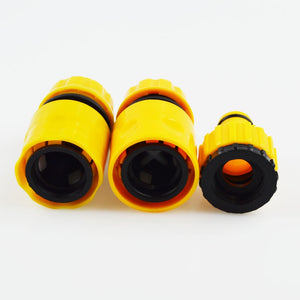 Coupcou.com: Useful Hose Pipe Fitting Quick Water Connector Adaptor Garden Lawn Tap 3PCS