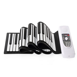 Coupcou.com: Iword S2090 Hand Roll Piano Flexible Roll Up 88 Keys  Keyboard Portable  Silicone Piano