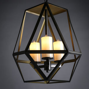 Coupcou.com: Restoring Wrought Iron Candlestick Droplight Industry Light for Bar Cafe Restaurant