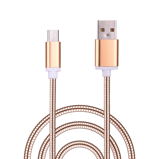 Coupcou.com: Spring Stripes Micro USB Data Charging Cable 100CM