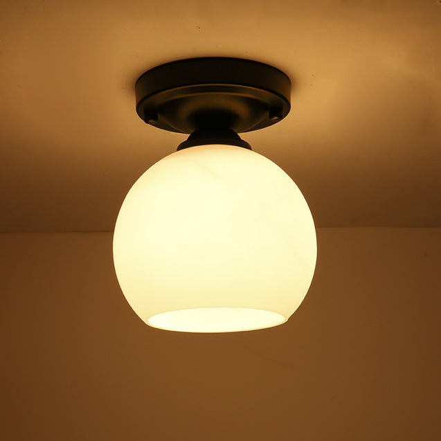 Coupcou.com: JUEJA  Modern Minimalist Single Head Ceiling Lights LED Lamp for Bedroom / Hallway / Balcony