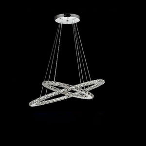 Coupcou.com: Simple Modern Crystal Chandelier Lamp Table Led Meals Chandeliers New Bedroom Oval Droplight Dining Room Lighting