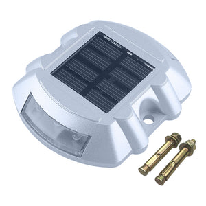 Coupcou.com: Aluminum Solar 6 - LED Outdoor Road Driveway Dock Path Ground Light Lamp