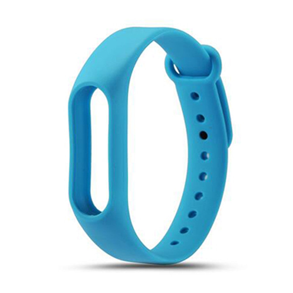 Colorful Silicone Wrist Strap Bracelet Replacement Watchband for Original Miband 2 Xiaomi Mi ban...BLUE