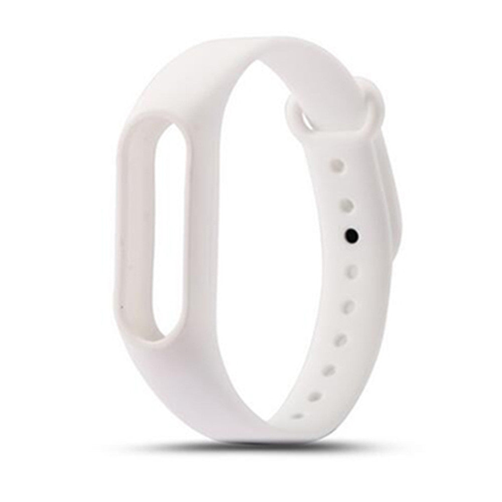 Colorful Silicone Wrist Strap Bracelet Replacement Watchband for Original Miband 2 Xiaomi Mi ban...WHITE