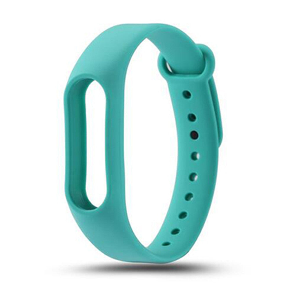Colorful Silicone Wrist Strap Bracelet Replacement Watchband for Original Miband 2 Xiaomi Mi ban...CHAMBRAY