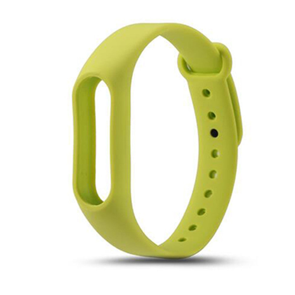 Colorful Silicone Wrist Strap Bracelet Replacement Watchband for Original Miband 2 Xiaomi Mi ban...GREEN