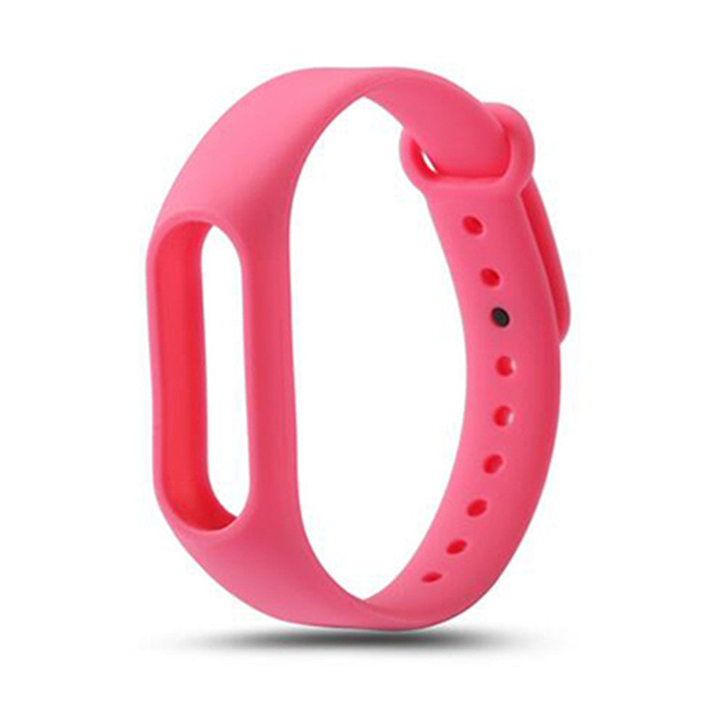 Colorful Silicone Wrist Strap Bracelet Replacement Watchband for Original Miband 2 Xiaomi Mi ban...PINK