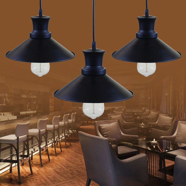 Coupcou.com: JUEJA Industrial Retro Pendant Lights for Dining Room Lamp Restaurant Bar Counter Attic Lighting