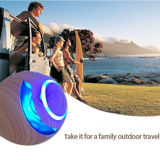 Coupcou.com: Magic Ball Wireless Bluetooth Speakers with Subwoofer Mini Round Hi-Fi Speaker Portable Hands-Free Indoor Outdoor for iPhone / iPad / iPod